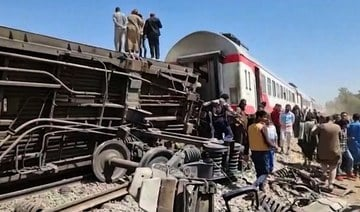 Egypt orders eight arrests over fatal train crash