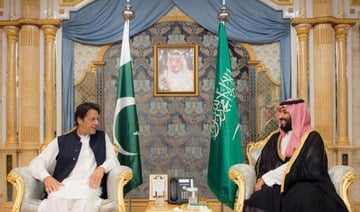 Saudi Arabia's crown prince wishes Pakistan's Khan speedy recovery from COVID1-9