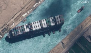 Suez blockage could 'take weeks' to clear