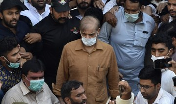 Pakistan court grants bail to opposition leader Shahbaz Sharif