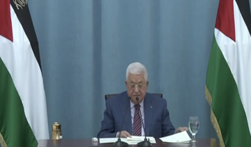 President Abbas says will continue to do 'everything possible' to defend the Palestinian people