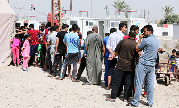 Iraqi officials blame Sunni displaced for bombing wave