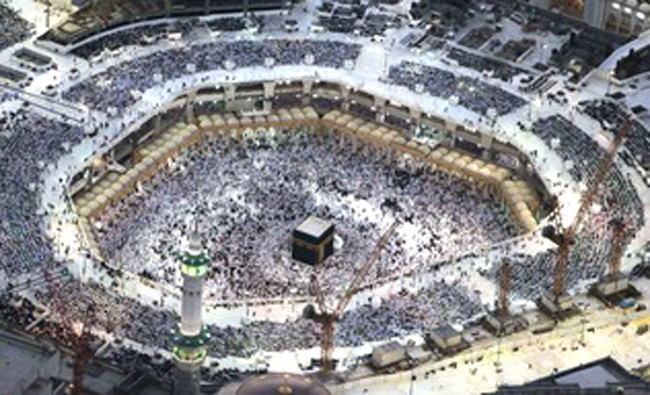 Grand Mosque In Makkah Views From The Sky Arab News