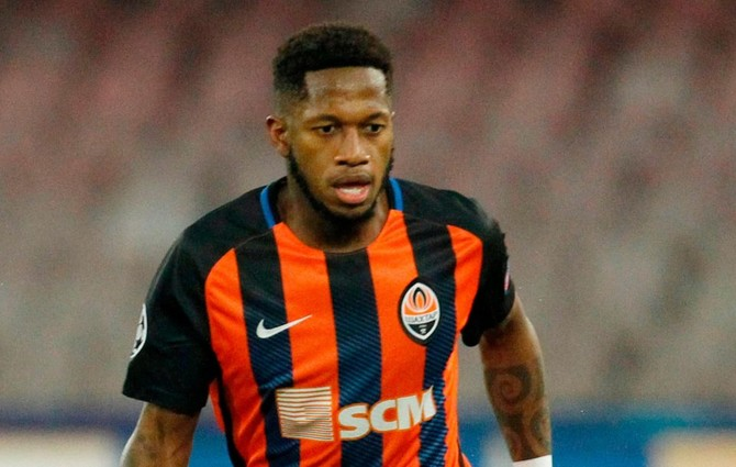 Brazil midfielder Fred agrees to join Manchester City