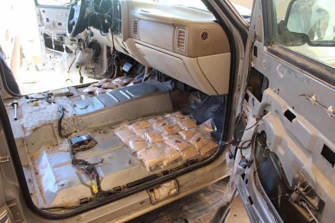 Traffickers caught smuggling tons of drugs into Saudi Arabia