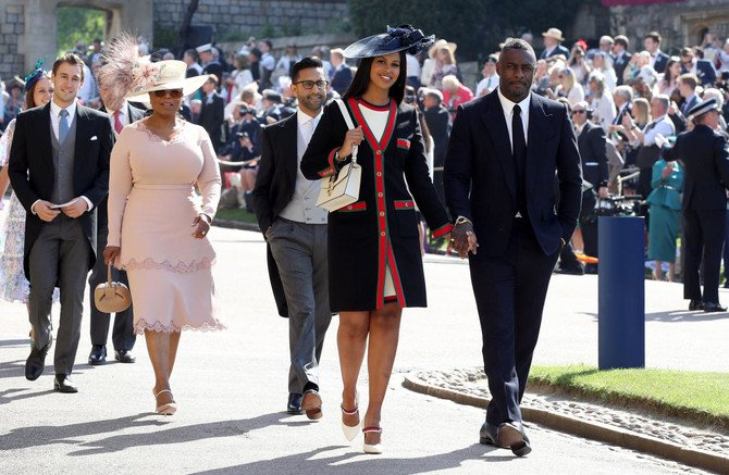 Celebrities Invited To Royal Wedding.Celebrities Arrive At Britain S Royal Wedding Arab News