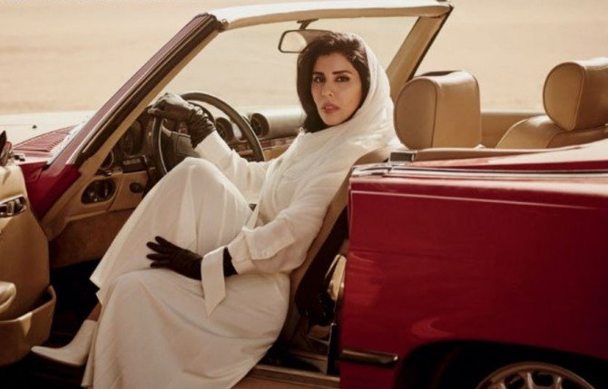 Vogue Arabia puts Saudi princess in driving seat for dedicated KSA issue