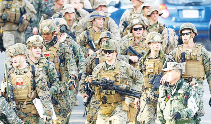 US, South Korea Call Off Joint Military Exercises