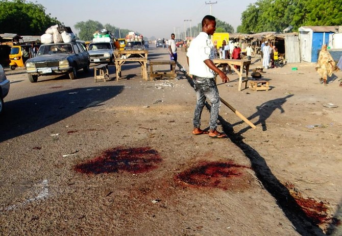 20 killed, 48 injured in northeast Nigeria explosions