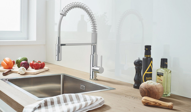 Grohe Introduces Latest Range Of Kitchen Sinks
