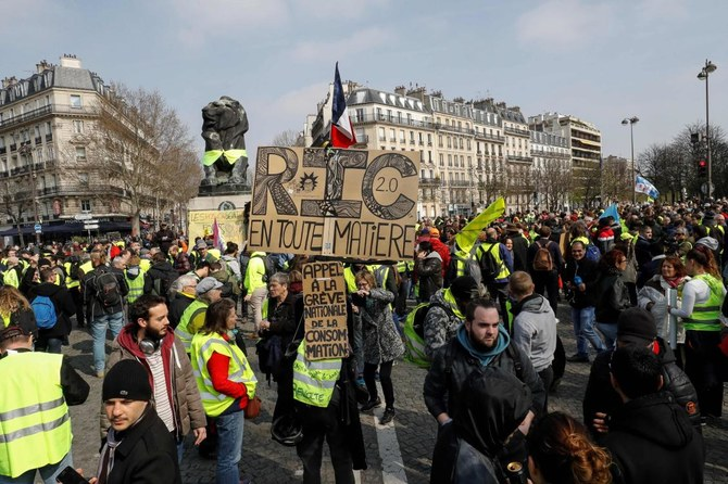 French yellow vests protest in Paris amid tighter security