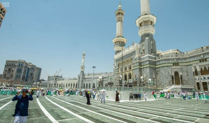 Makkah's Grand Mosque courtyard extension project nears completion