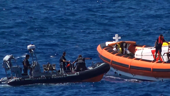 At least two die, 22 rescued from migrant boat off Sicily