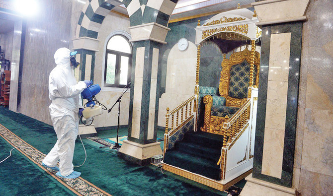 Indonesia launches mosque disinfection campaign