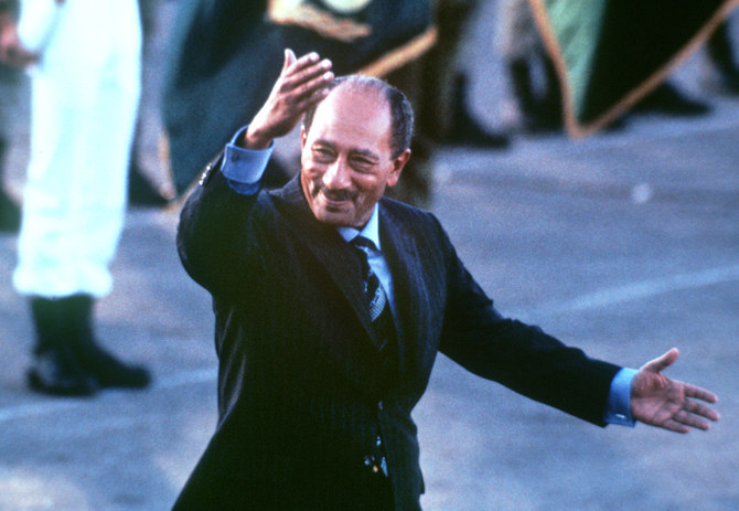 When Sadat went to Israel