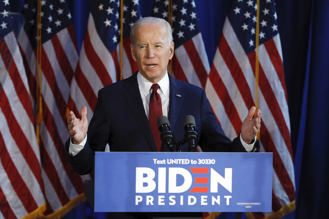 Biden says will restore aid to Palestinians if elected
