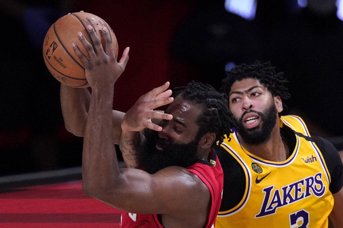 Lakers run past Rockets for 3-1 West semifinals lead