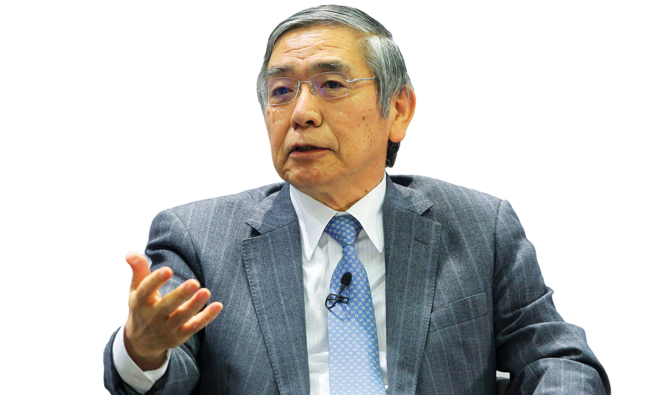 Bank of Japan head warns of climate threat to global economy