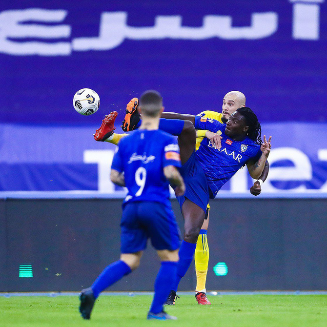 Al-Hilal overcome Al-Nassr in Riyadh Derby to go clear at the top of Saudi Professional League