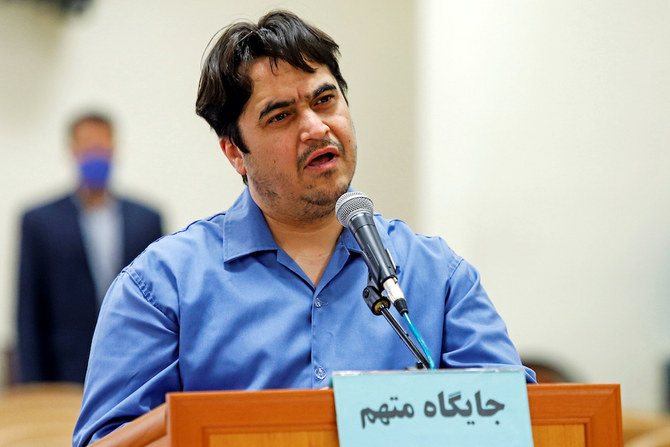 Pompeo calls for Iran to be held accountable over execution of journalist Ruhollah Zam