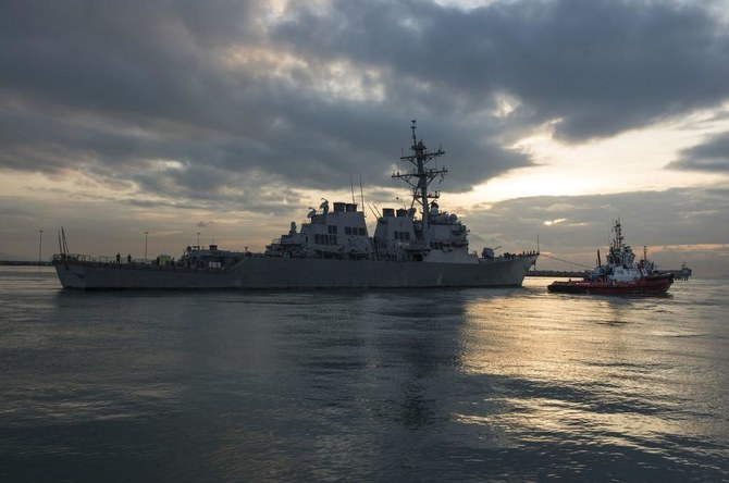 US warship sails by China-claimed Spratly Islands