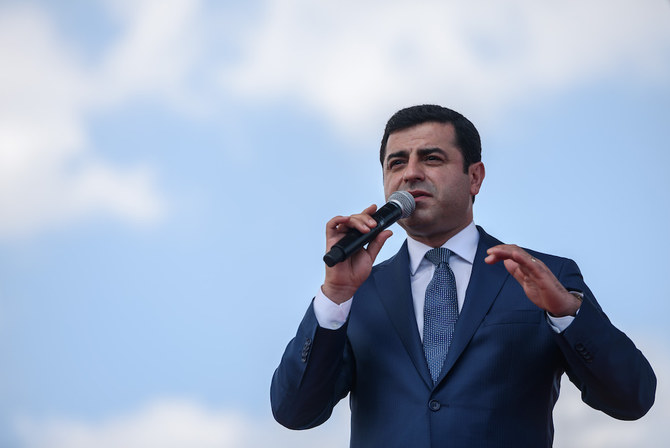 Europe's top human rights court orders immediate Turkish release of jailed Kurdish leader Demirtas