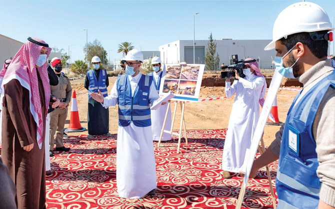 Al-Baha governor inspects King Saud Airport development
