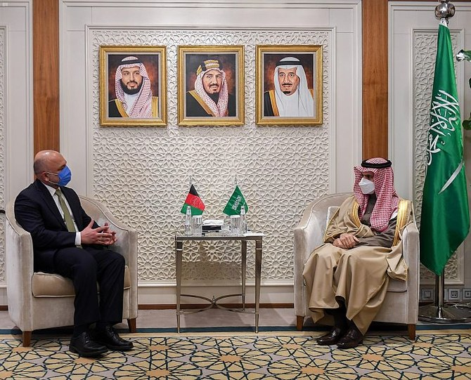 Saudi FM and Afghan counterpart discuss bilateral relations