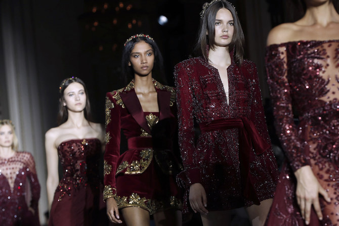 Zuhair Murad was scheduled to present his collection on Jan. 27.  File/AFP