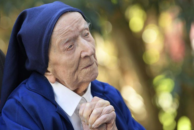 French nun, Europe's oldest person, turns 117 after surviving COVID-19