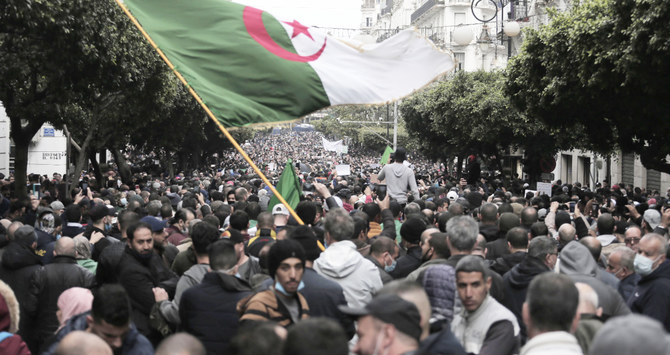 Thousands march through Algiers on anniversary of Hirak protests