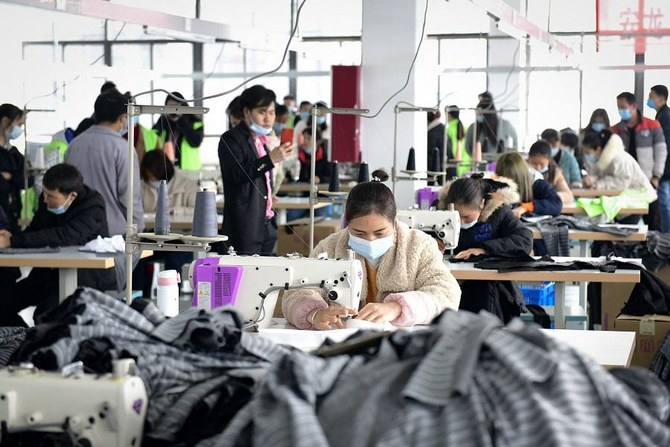 China's factory activity expands at a slower pace in February, misses expectations