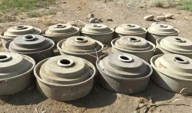 Saudi project clears 1,846 more mines in Yemen