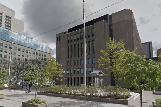 Ontario Superior Court Justice Cory Gilmore rejected Saad Al-Jabri's request to lift the freeze order on hundreds of millions of dollars in assets. (Google Maps)
