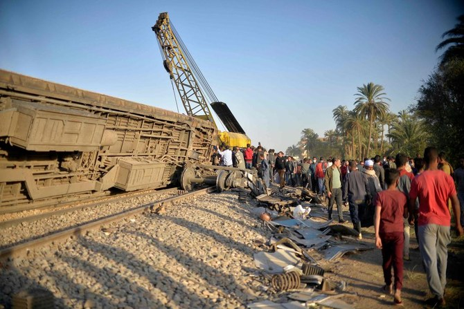 Railway traffic resumes after deadly crash in southern Egypt