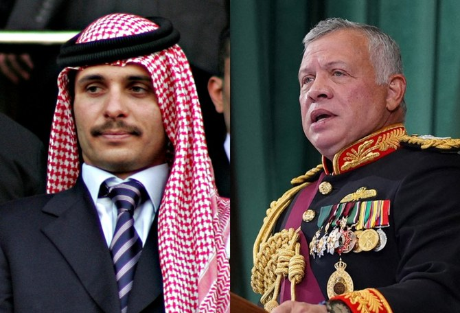 Statement signed by Jordan's Prince Hamza pledges support to King Abdullah II