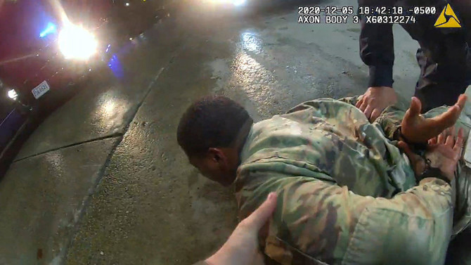 US cop accused of force against Black Army officer fired