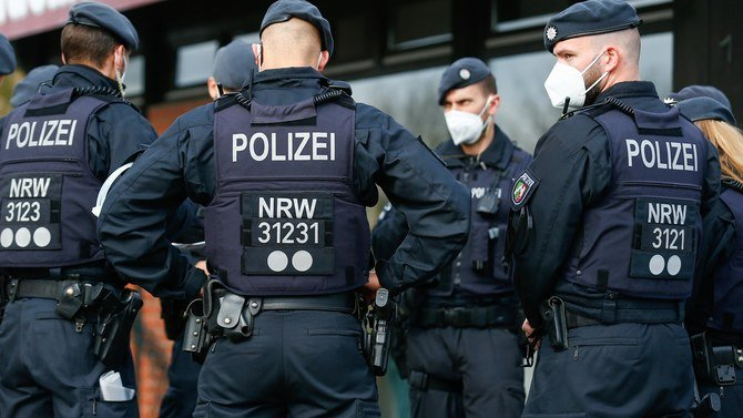 German police suspected of supplying ammunition to anti-Muslim extremists