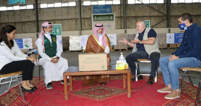 Saudi aid agency KSrelief delivers 423 tons of dates to WFP in Jordan