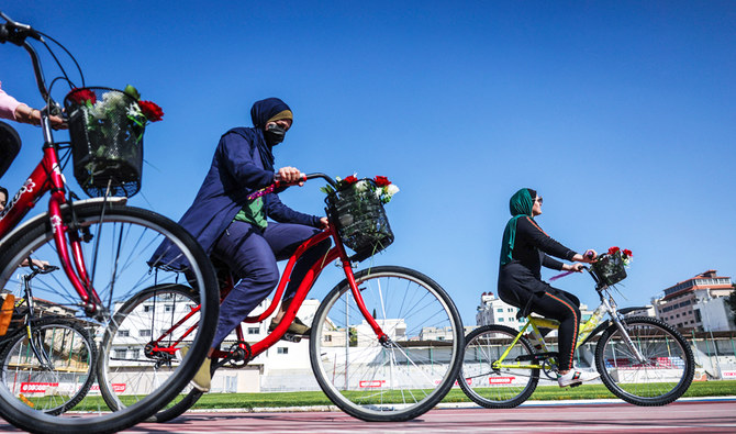Gaza women pedal their way to glory and happiness
