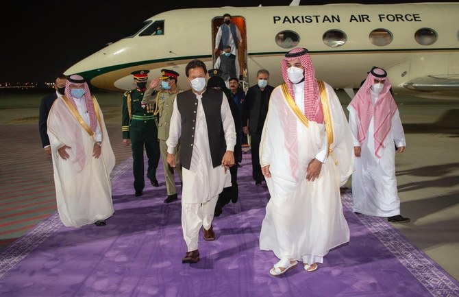 Pakistan PM Imran Khan arrives in Saudi Arabia for three-day visit