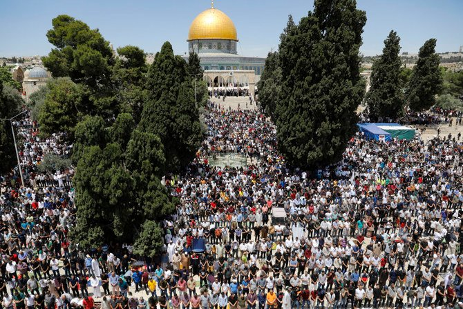 How Muslim faithful in Jerusalem savored the essence of Ramadan
