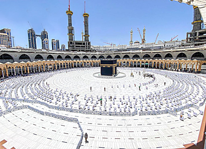 Worshippers at Two Holy Mosques thoroughly screened from coronavirus disease