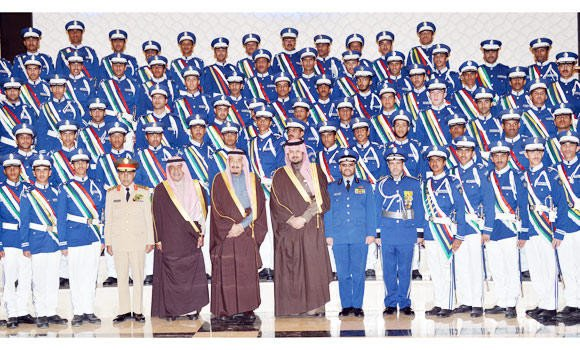 80 students graduate from King Faisal Air Academy