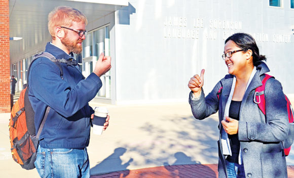 Sign-language university grants degrees to the deaf